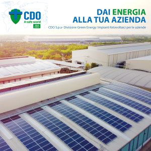 CDO Green Energy, Grafica 1° Post